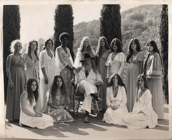 Father Yod, his women, and The Source Family.