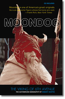 Forthcoming biography about Moondog.