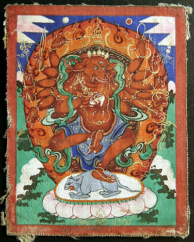 Ganapati - Red (many arms): Mongolia, Buddhist lineage.