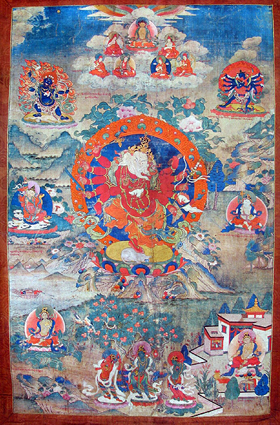 Ganapati - Red (12 hands): Tibet, Sakya lineage.