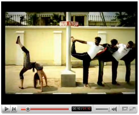 Puducherry Yoga Festival Video Spot 2 (at YouTuble) by JWT India.